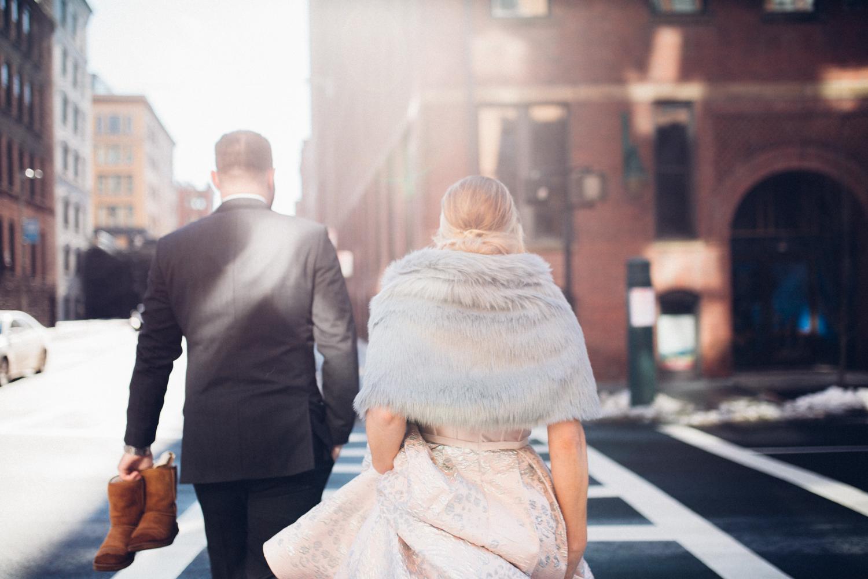 Wedding in Boston - photographer Analog Wedding