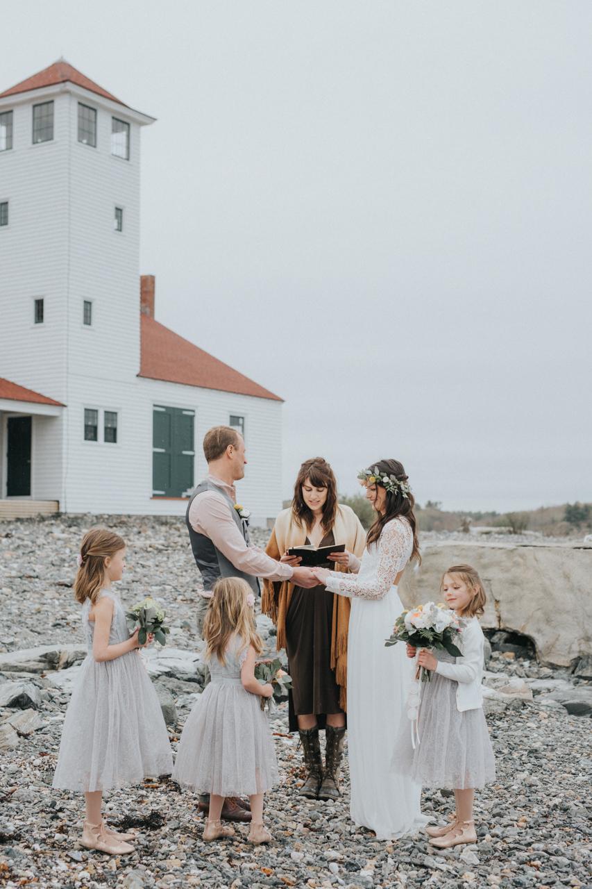Wedding in Maine - phtoographer Analog Wedding